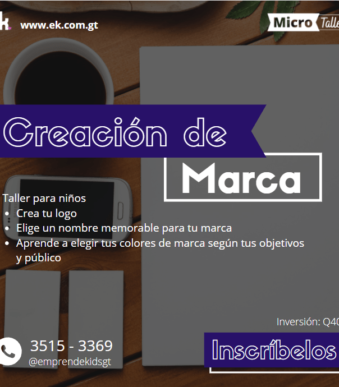 Taller de creación de marca logotipo guatemala diseño zoom